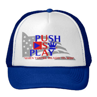 Push Play Athletic Wear USA Cap