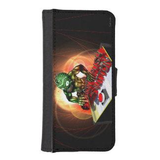 Push the button iPhone SE/5/5s wallet case