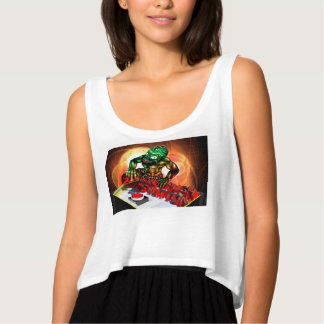 Push the button tank top