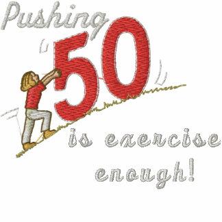 Pushing 50 track jacket