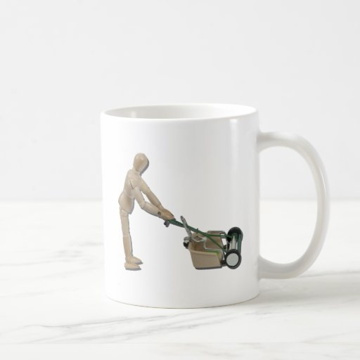 PushingLawnMower073011 Mug