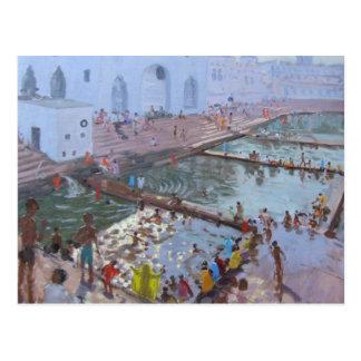 Pushkar ghats Rajasthan Postcard