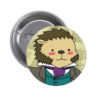 Pushkin cameo button