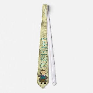 Pushkin hedgehog necktie