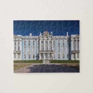 Pushkin-Tsarskoye Selo, Catherine Palace Jigsaw Puzzle