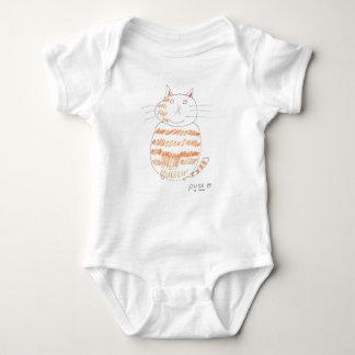 """Puss by Aidan"" Baby Bodysuit"