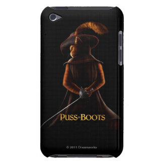 Puss In Boots Blk Barely There iPod Cover