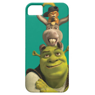 Puss In Boots, Donkey, And Shrek Barely There iPhone 5 Case