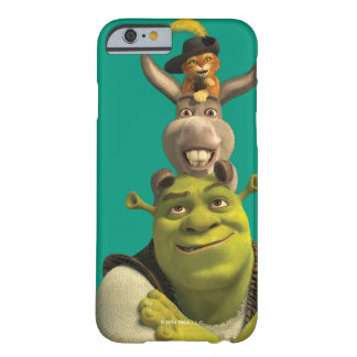 Puss In Boots, Donkey, And Shrek Barely There iPhone 6 Case