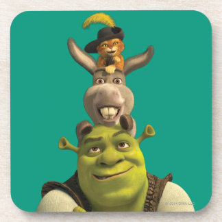 Puss In Boots, Donkey, And Shrek Coaster