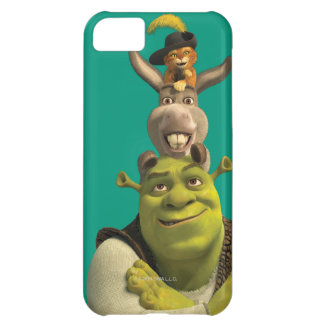 Puss In Boots, Donkey, And Shrek iPhone 5C Case