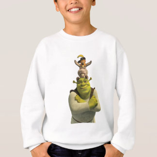 Puss In Boots, Donkey, And Shrek Sweatshirt