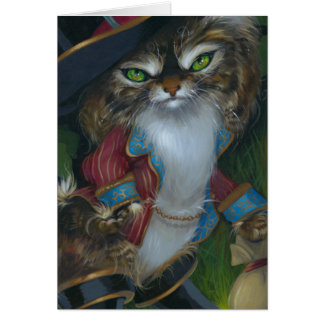 """""""Puss in Boots"""" Greeting Card"""