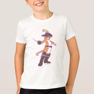 Puss In Boots Illustration T-Shirt