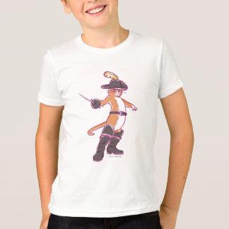Puss In Boots Illustration Tshirt