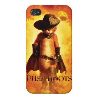 Puss In Boots iPhone 4/4S Cases