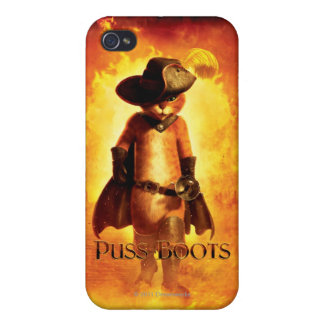 Puss In Boots Poster iPhone 4/4S Case