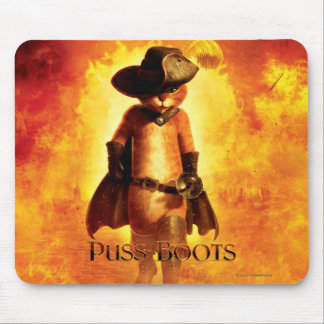 Puss In Boots Poster Mouse Mat