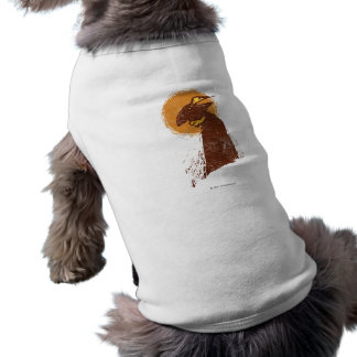 Puss In Boots Silhouette Doggie T Shirt