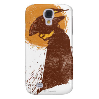 Puss In Boots Silhouette Galaxy S4 Case