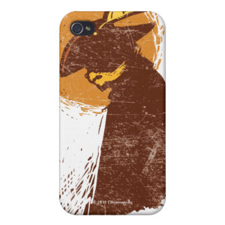 Puss In Boots Silhouette iPhone 4 Case