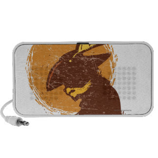 Puss In Boots Silhouette Mp3 Speaker