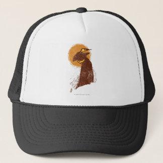 Puss In Boots Silhouette Trucker Hat