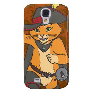 Puss Running Galaxy S4 Case