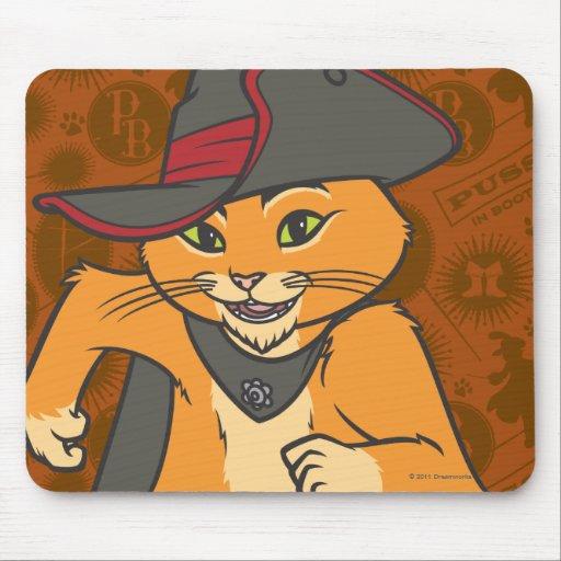 Puss Running Mousepad