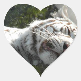 Pussy Cat Heart Sticker