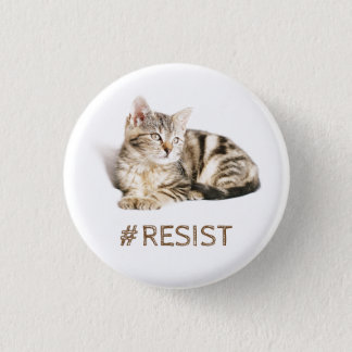 Pussy grabs back - #resist 3 cm round badge