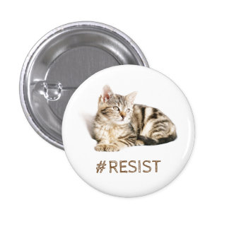 Pussy grabs back - #resist 3 cm round badge
