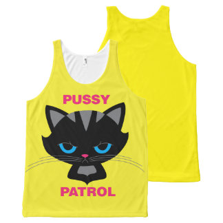 Pussy Patrol All-Over Print Tank Top