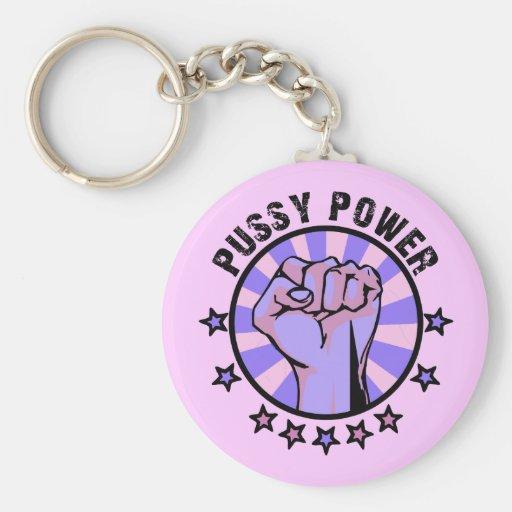 Pussy Power Keychain