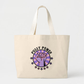 Pussy Power Tote Bags