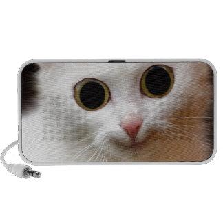 Pussy white  Cat iPhone Speakers