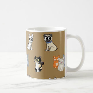 Pussycat and Doggy Mug