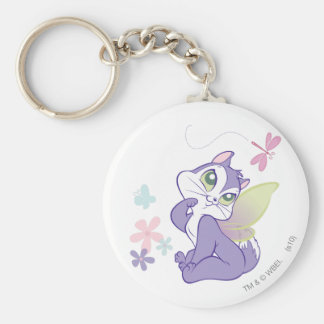 Pussyfoot Dragonfly Kitty Key Ring