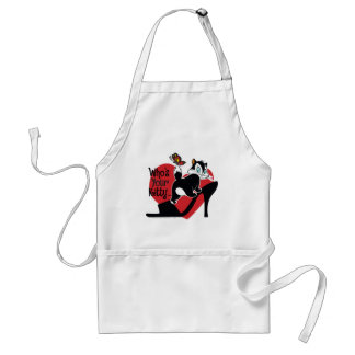 Pussyfoot Who's Your Kitty Standard Apron