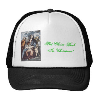 Put Christ Back In Christmas Cap