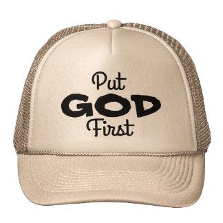 Put GOD First Cap