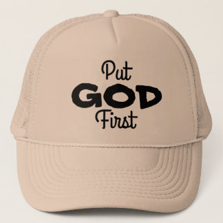 Put GOD First Trucker Hat