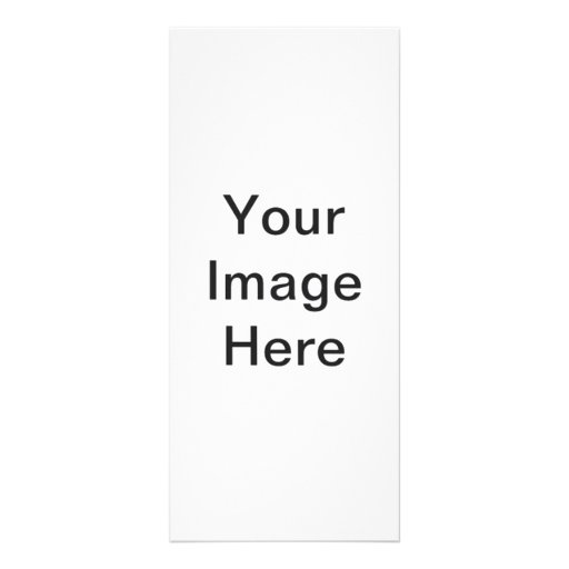 Put Image Text Logo Here Create Make My Own Design Customized Rack Card