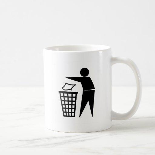 Put it in the Bin Coffee Mugs