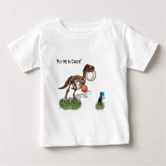 """""""Put me in Coach""""  Baby T-Shirt"""