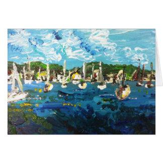 Put-n-Bay Lake Erie Painting #1 Greeting Card