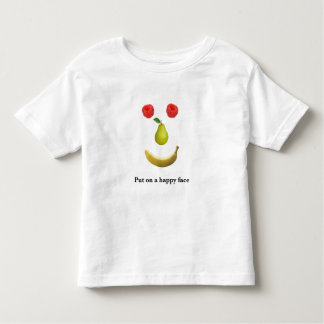 Put on a happy face toddler T-Shirt