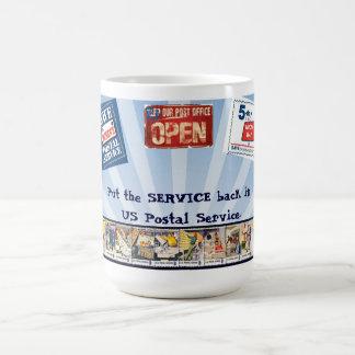 Put Service back in USPS Coffee Mug