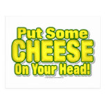 Put Some CHEESE On Your Head! Postcard