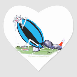 put the boot in - rugby, tony fernandes heart sticker